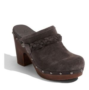 NEW Ugg brown suede Kaylee clog